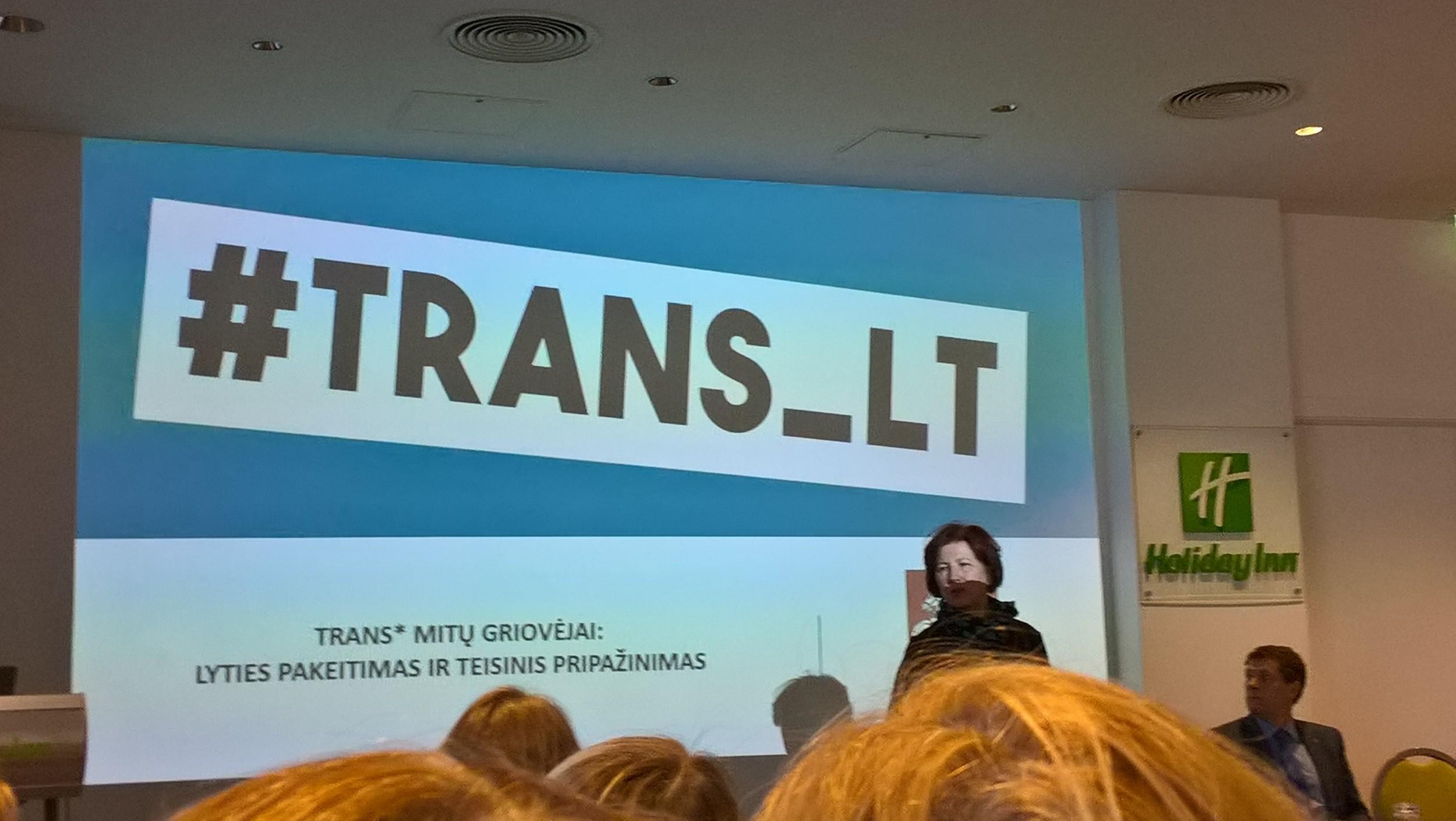 """Ataskaitinis susirinkimas ir mokslinė praktinė konferencija: Translytiškumas – kaip naujai suvokti lytį"""""""